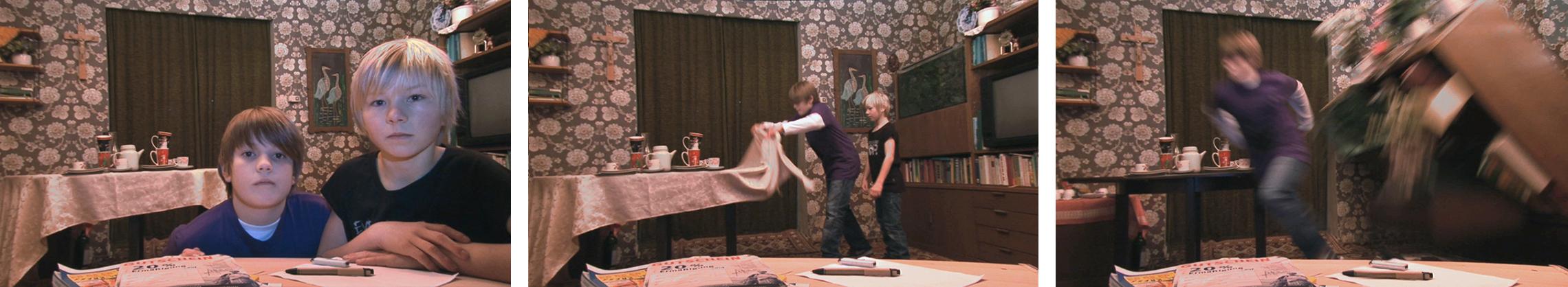 MICHEL & SVEN – The Table Cloth Magic Trick